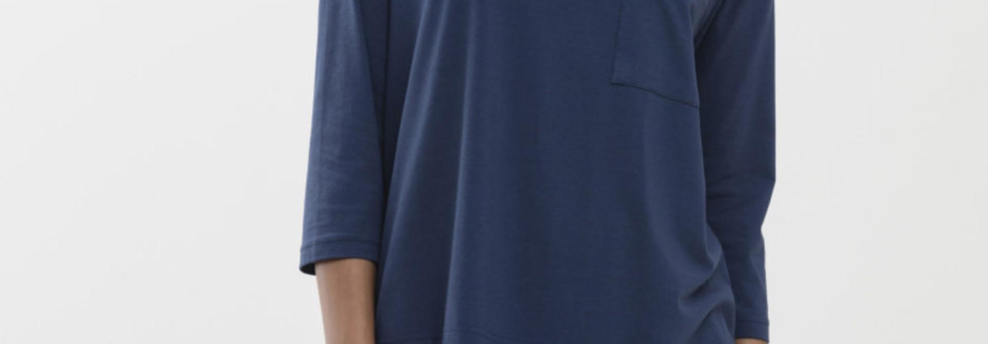 T-shirt 3/4 mouw Liah Night2day 16110 - blauw