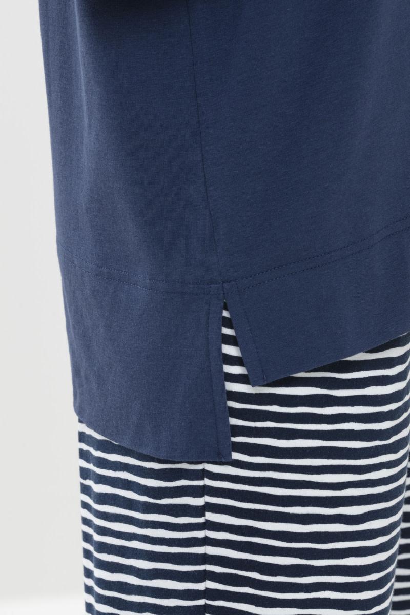 T-shirt 3/4 mouw Liah Night2day 16110 - blauw-3