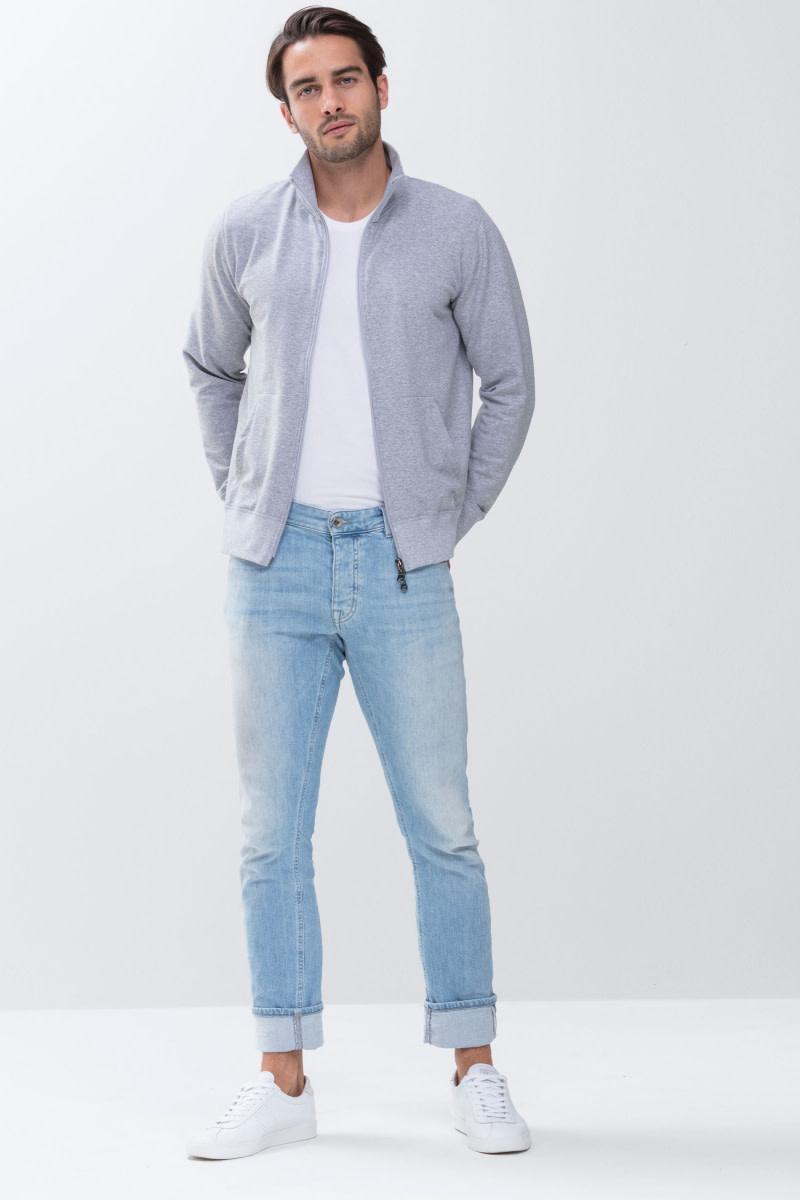 Homewear Enjoy vest 23593 - grijs-1