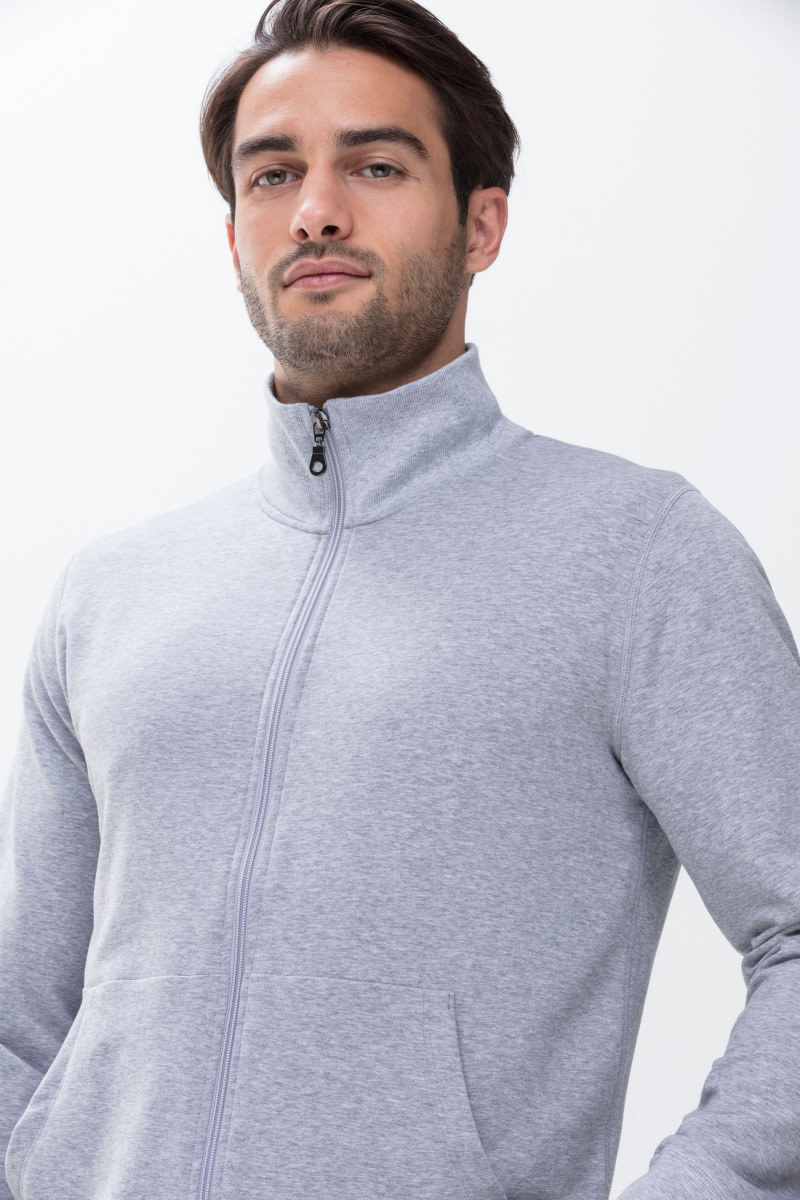 Homewear Enjoy vest 23593 - grijs-3