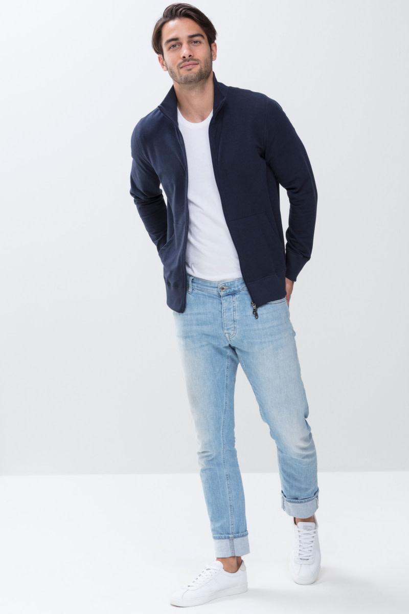 Homewear Enjoy vest 23593 - blauw-1