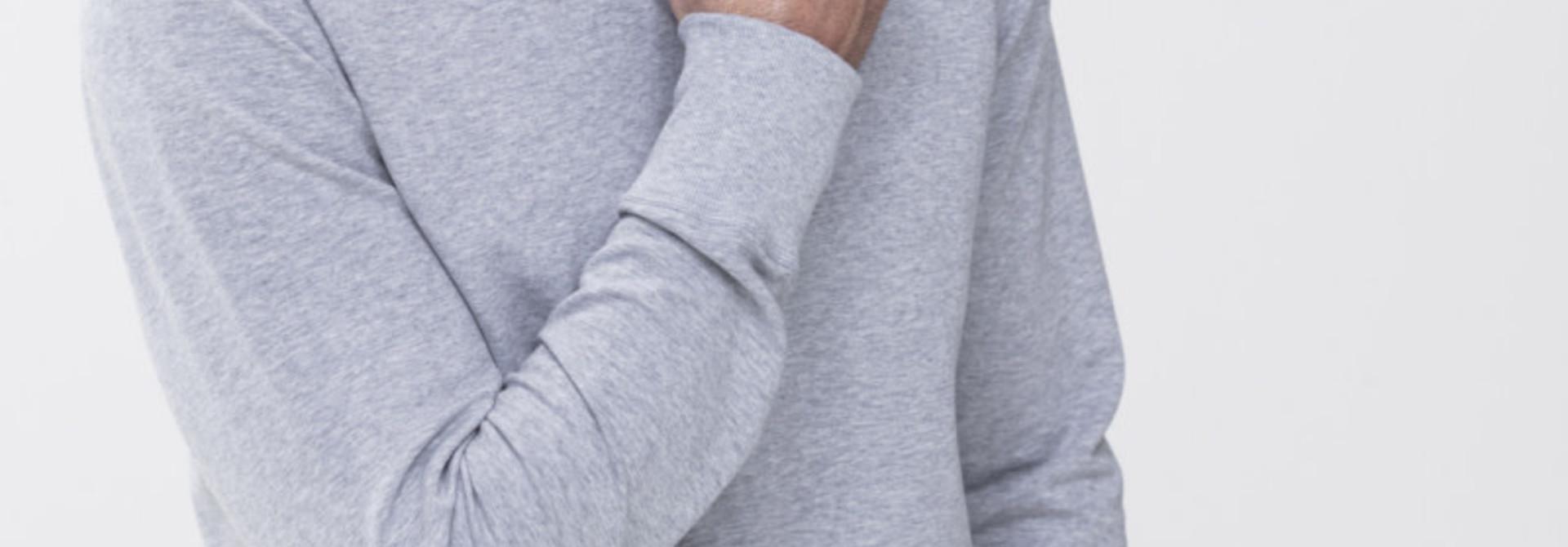 Homewear Enjoy sweater 23540 - grijs