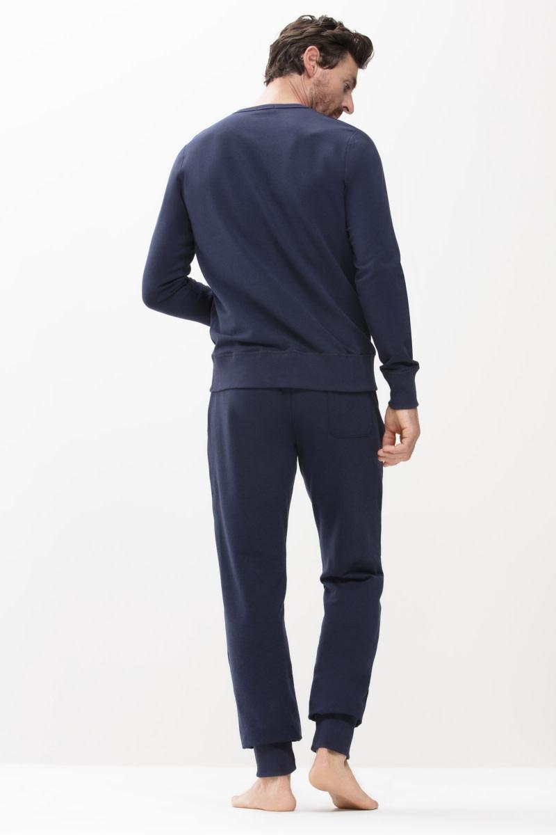Homewear Enjoy sweater 23540 - blauw-2