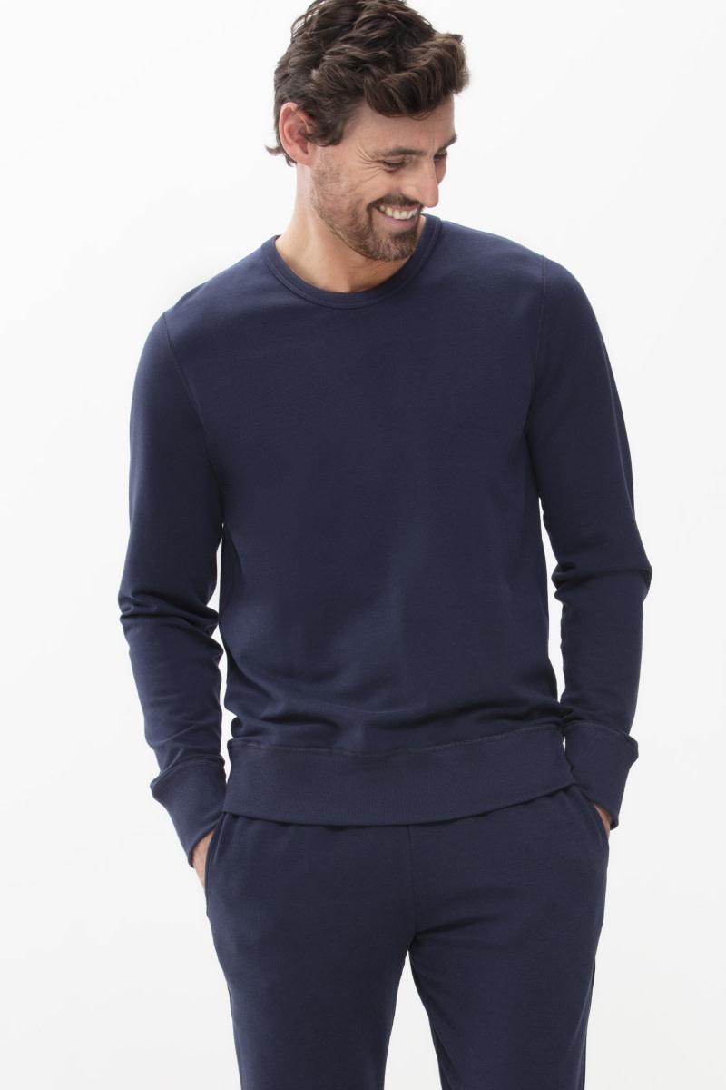 Homewear Enjoy sweater 23540 - blauw-1