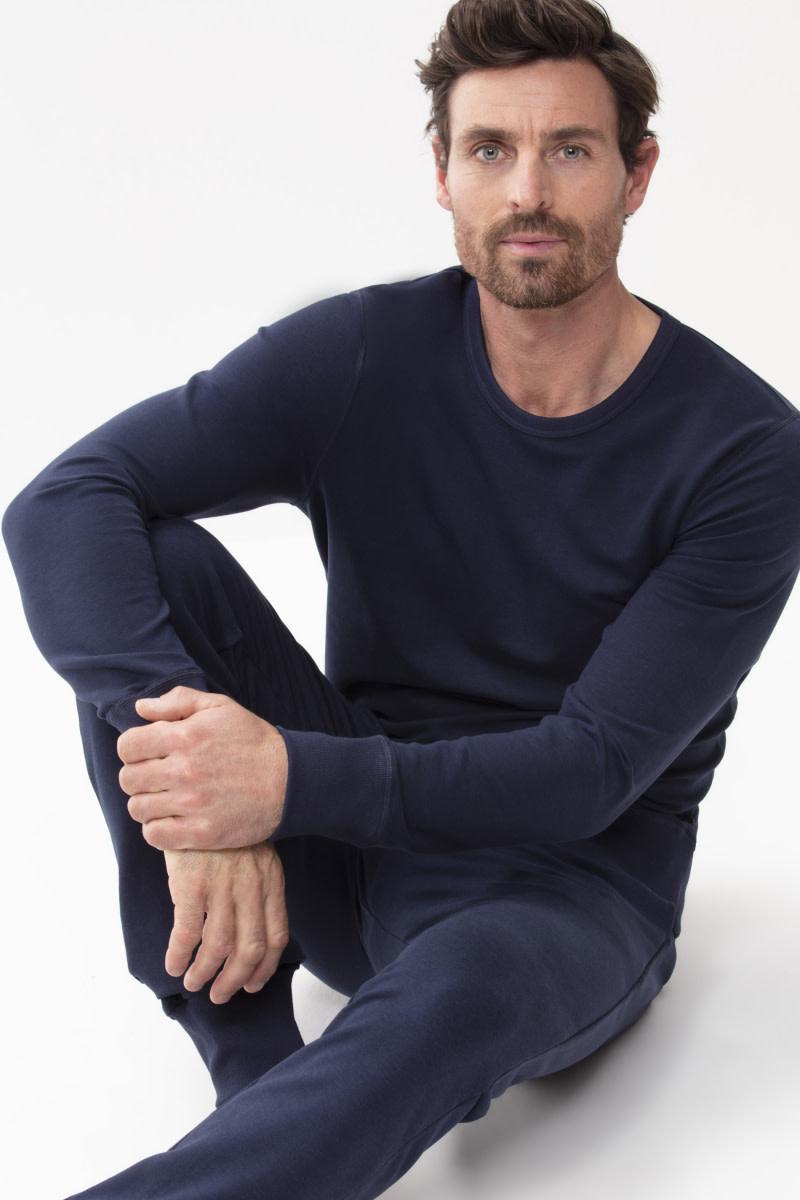 Homewear Enjoy sweater 23540 - blauw-3