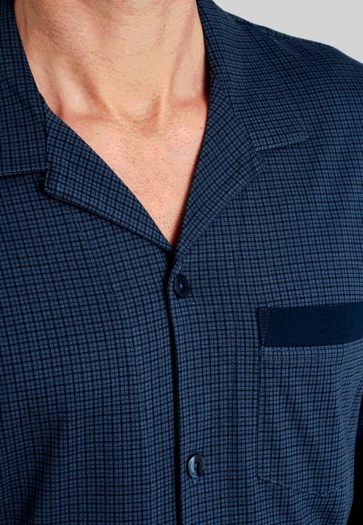 Pyjama lange mouw met knopen 175644-3