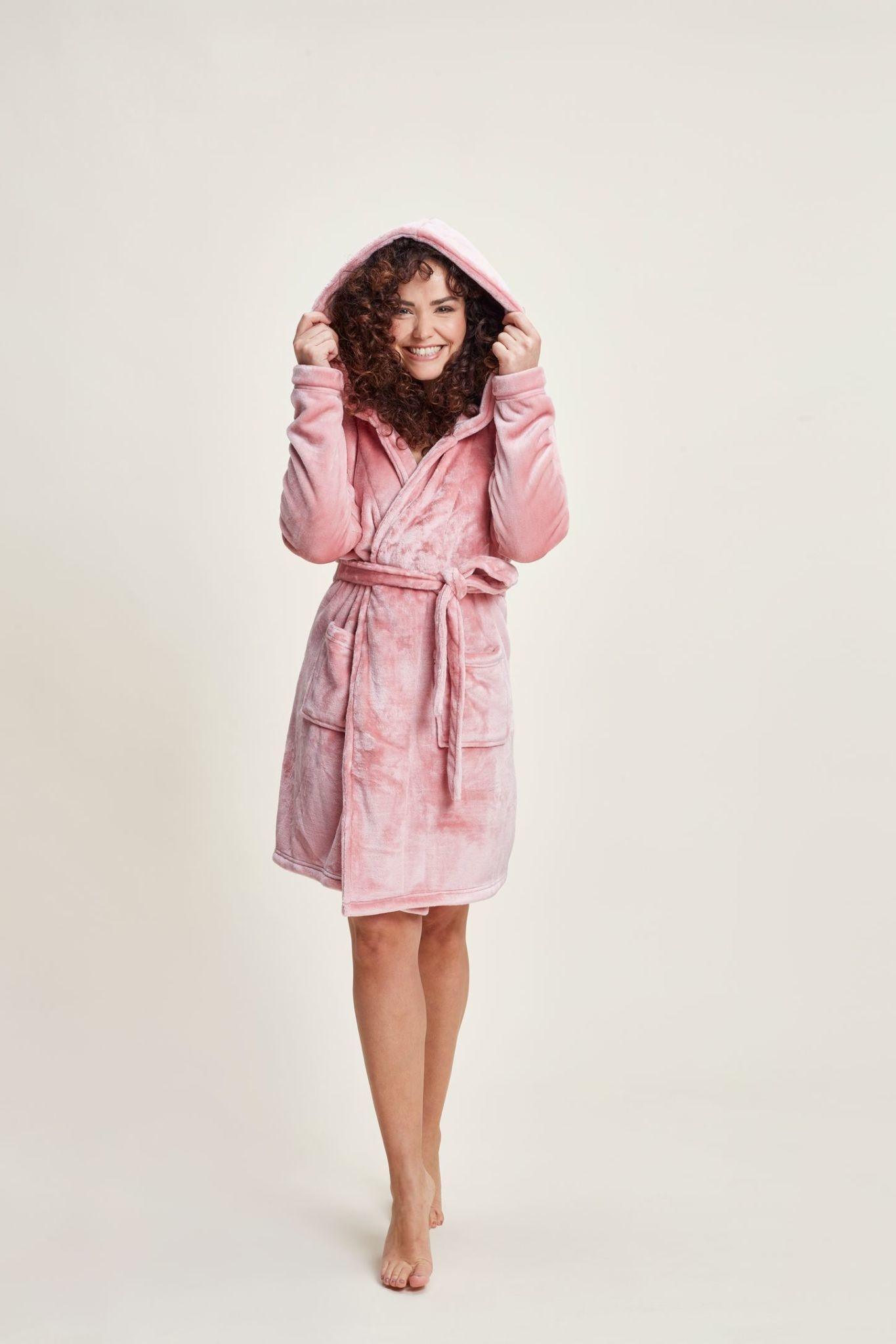 Badjas 41168 - pink-1