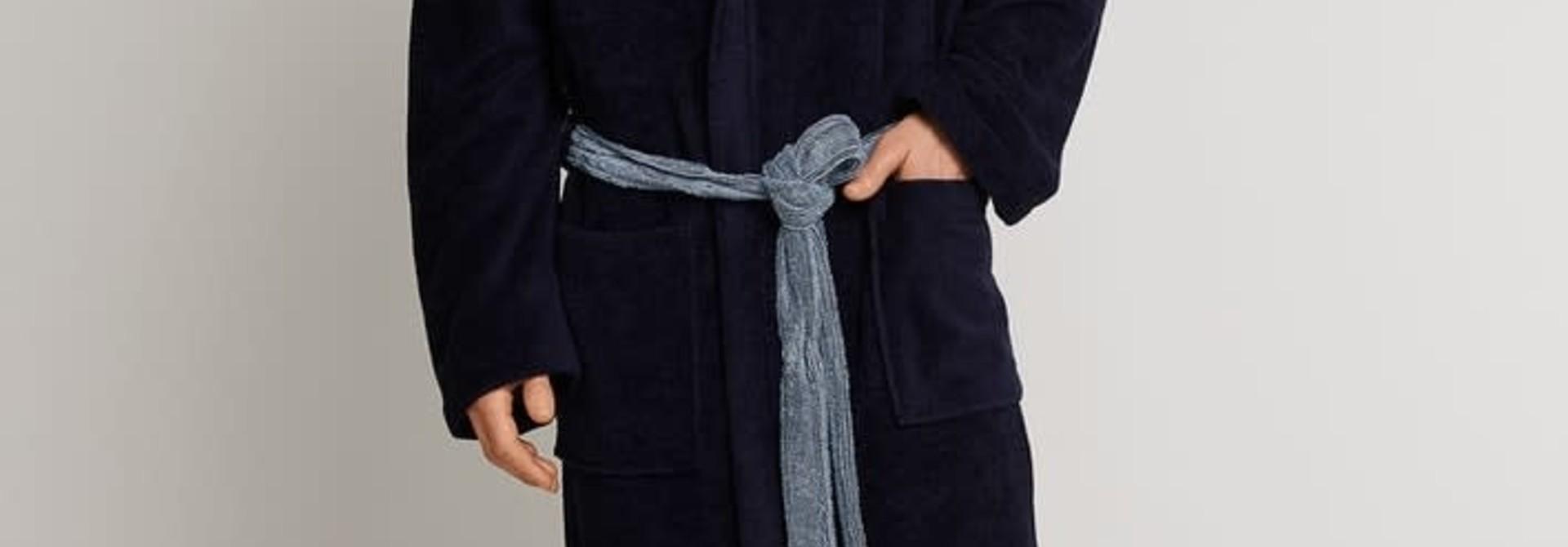 Badjas 163984 - donkerblauw