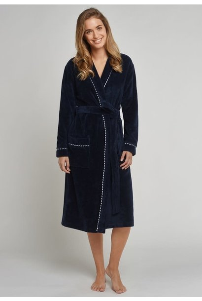 Badjas 161070 - donkerblauw