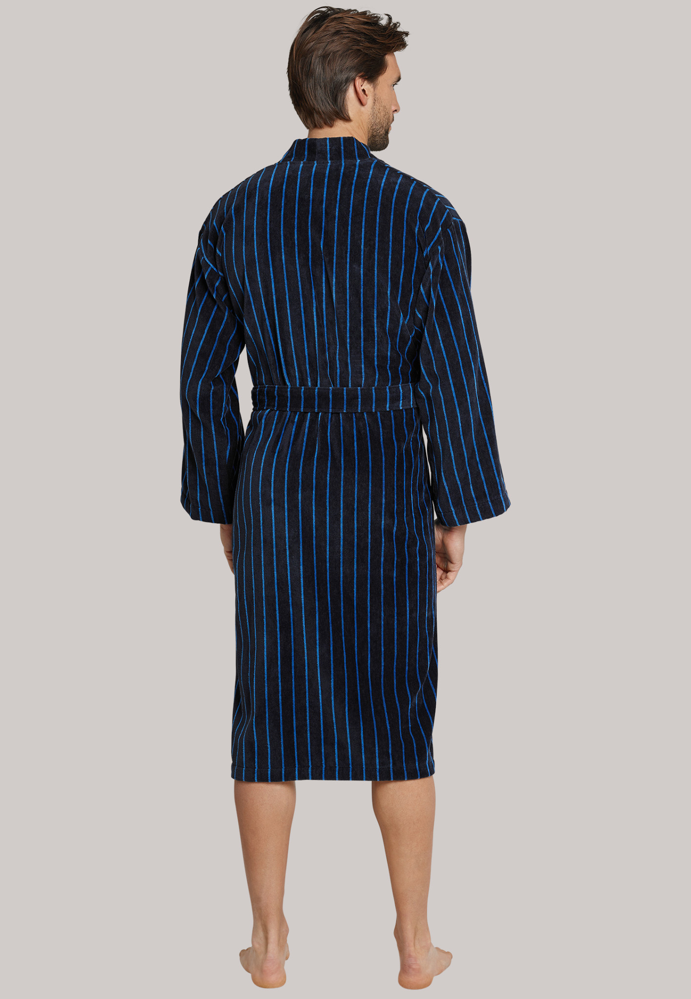 Badjas 142106 - donkerblauw-2