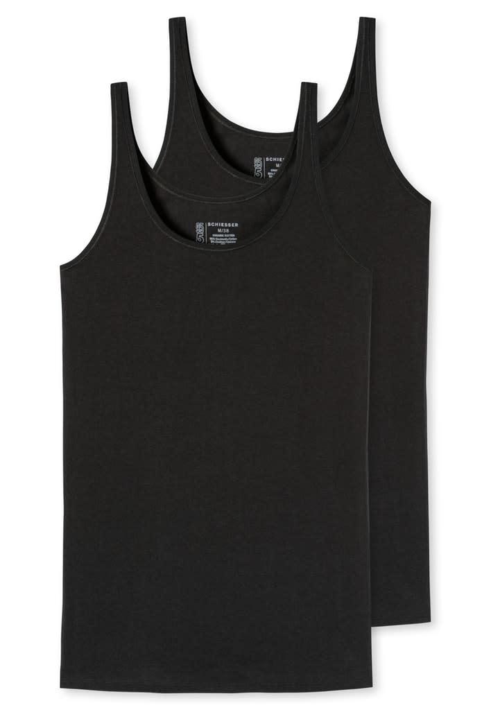 Hemd 95/5 2-Pack 174389 - zwart-3
