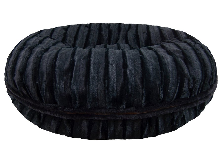Bagel Bed , Black Puma