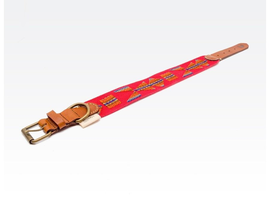 Halsband Etna red