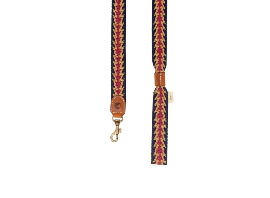 Peruvian Arrow blue dog lead