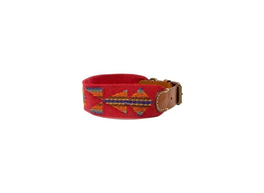 Etna red halsband