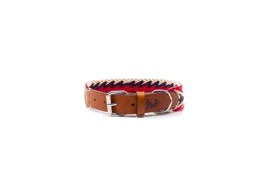 Peruvian Arrow red halsband