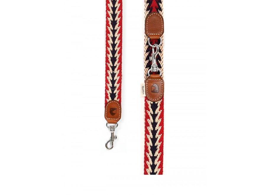 Peruvian Arrow Red long lead
