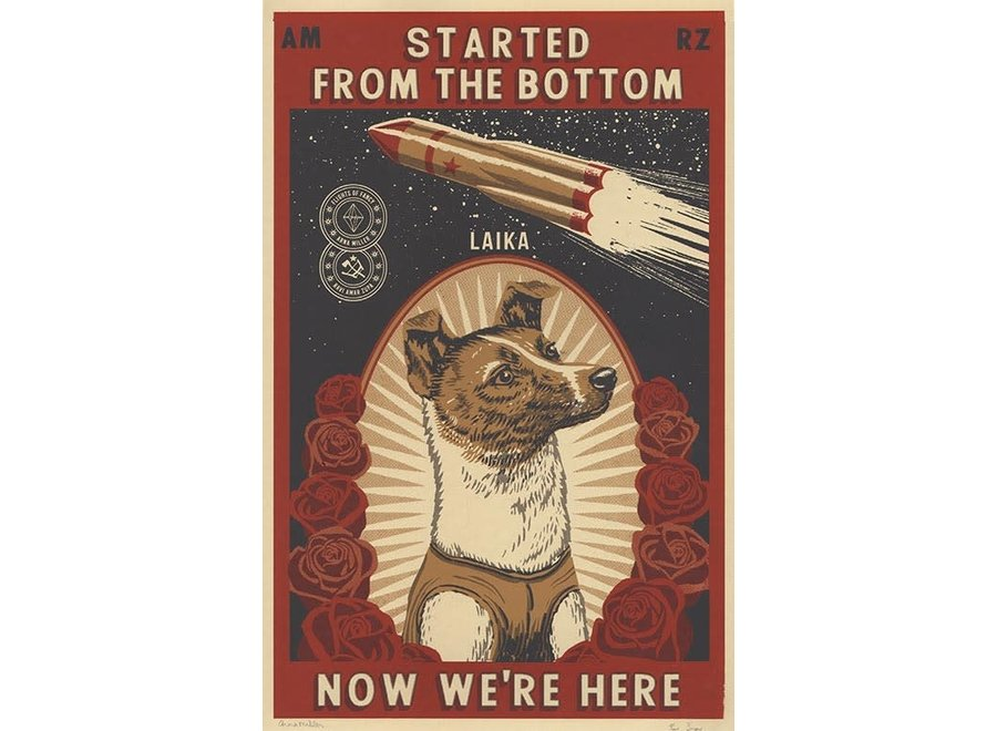 Started From The Bottom limited artprint