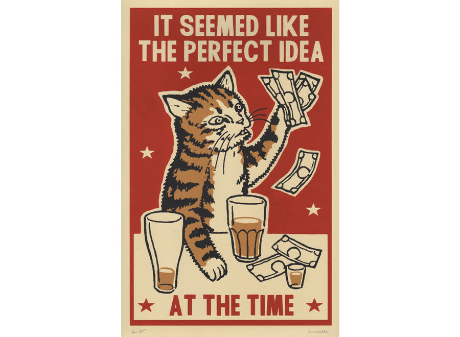 Perfect Idea limited artprint