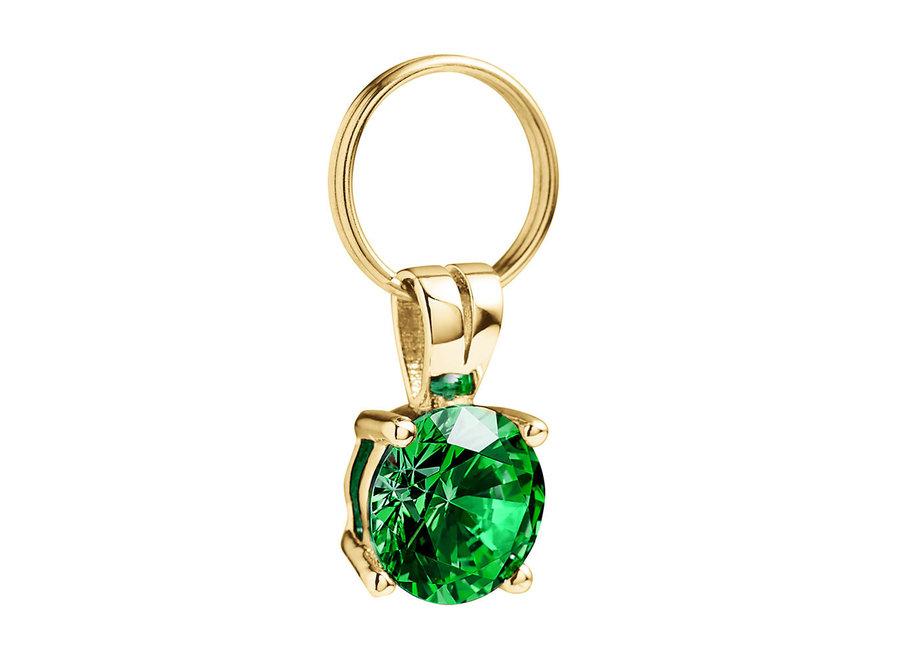 Gem Charm Emerald