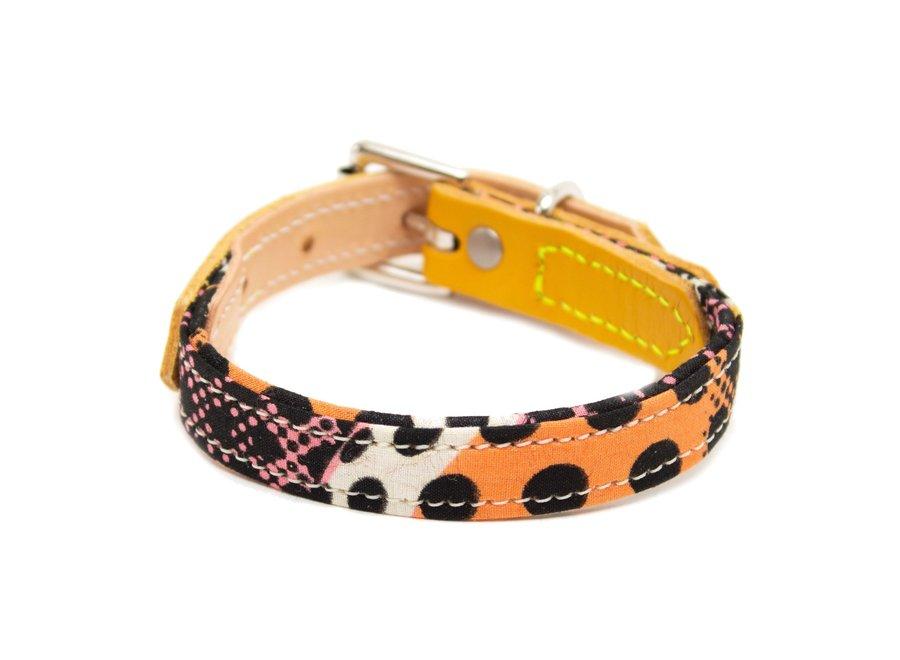 Dog collar Pop Art