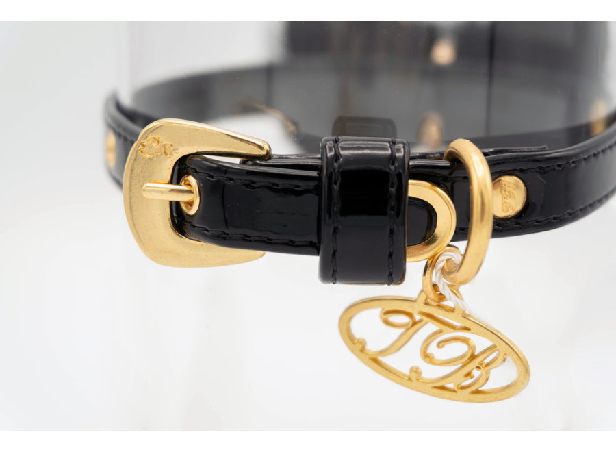 Dog collar Aggie Black