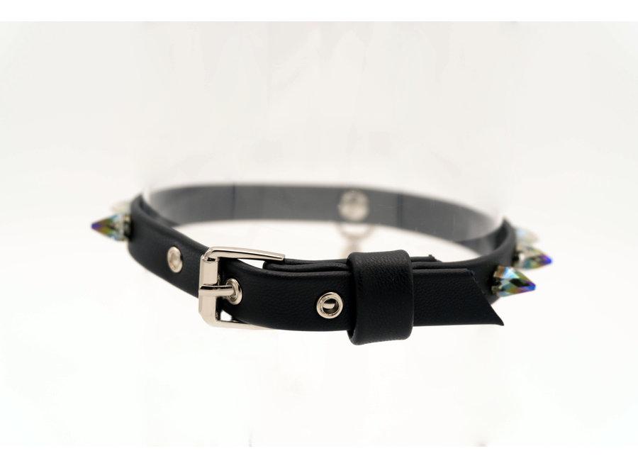 Dog collar Round Spike