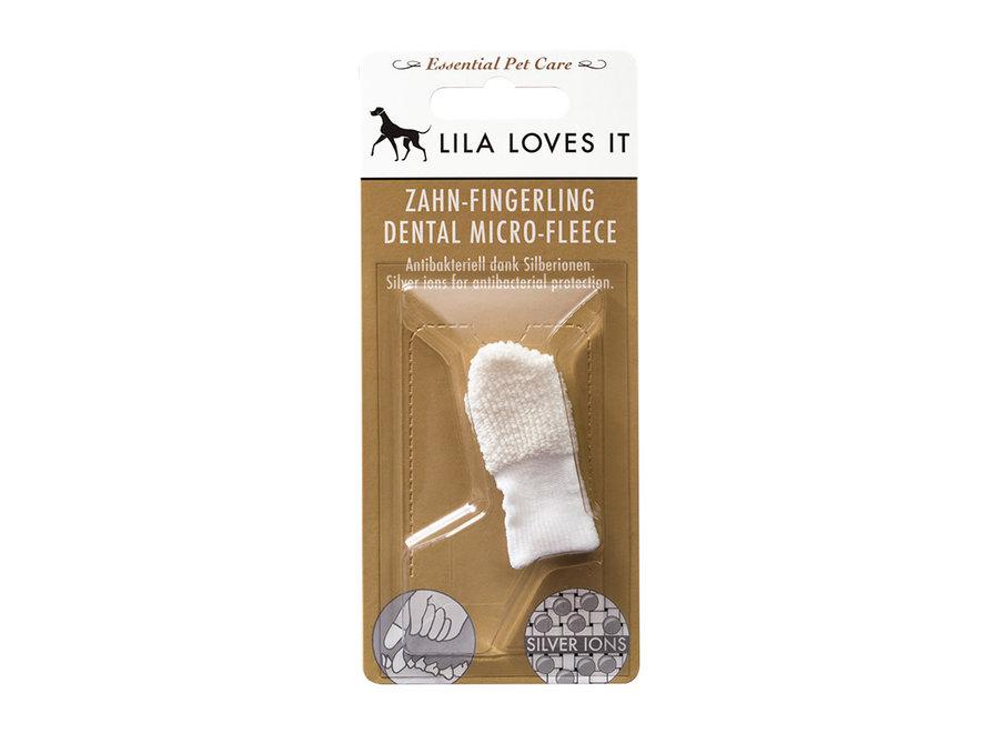 Vingertandenborstel micro-fleece