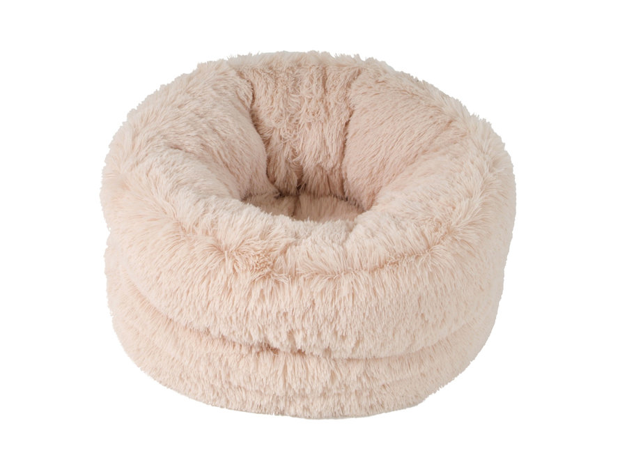 Fluffy bed Beige