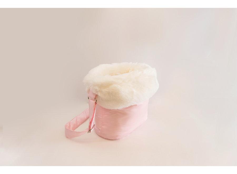 Dog Carrier Bag Coconut Pink