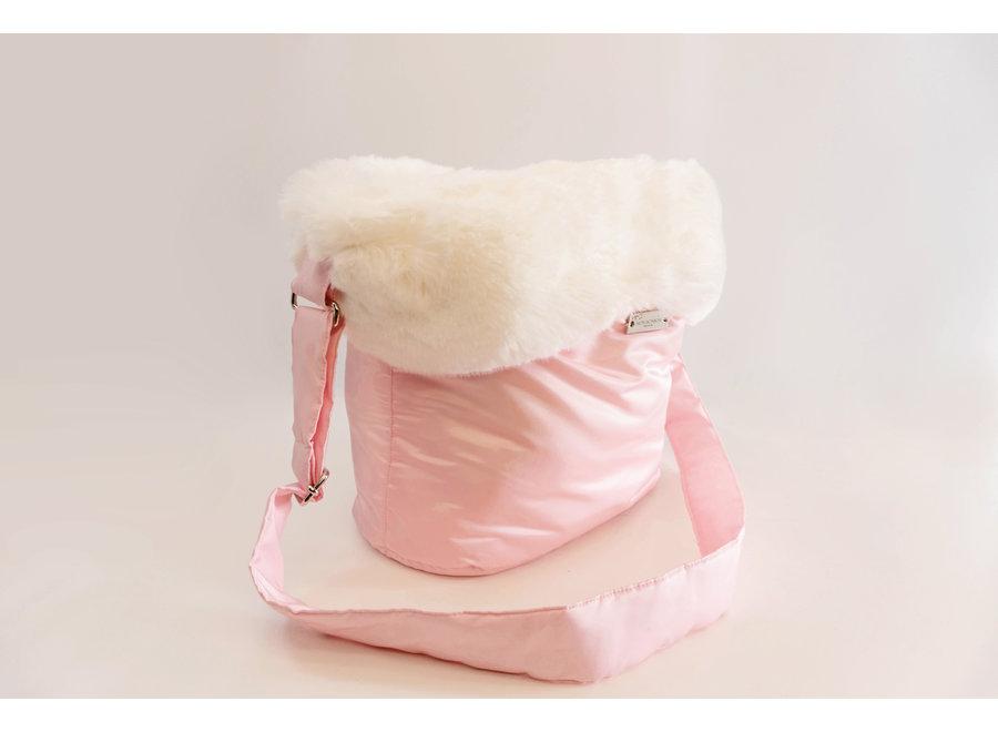 Honden draagtas Coconut Pink