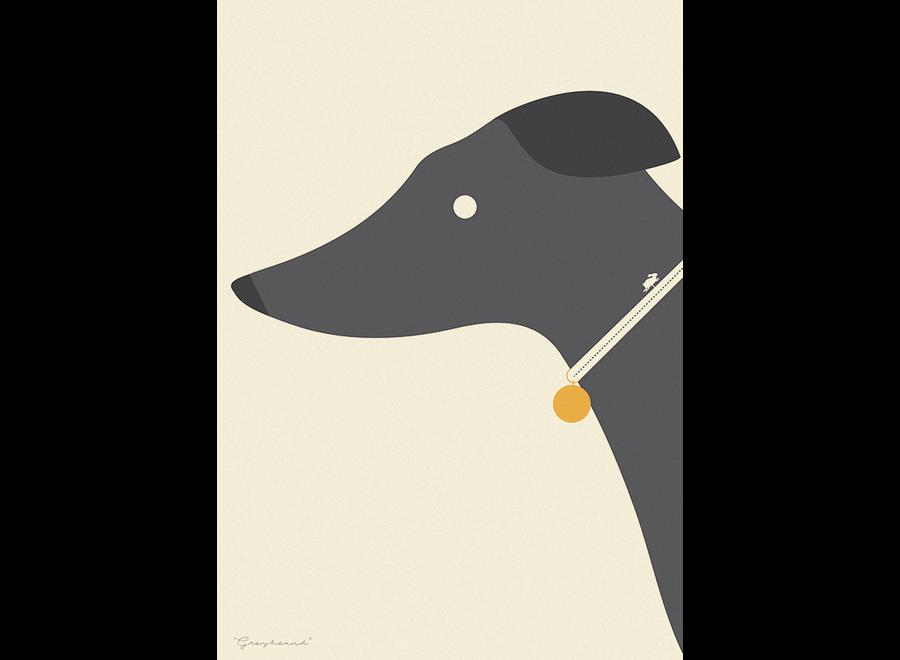 ArtPrint Greyhound Whippet