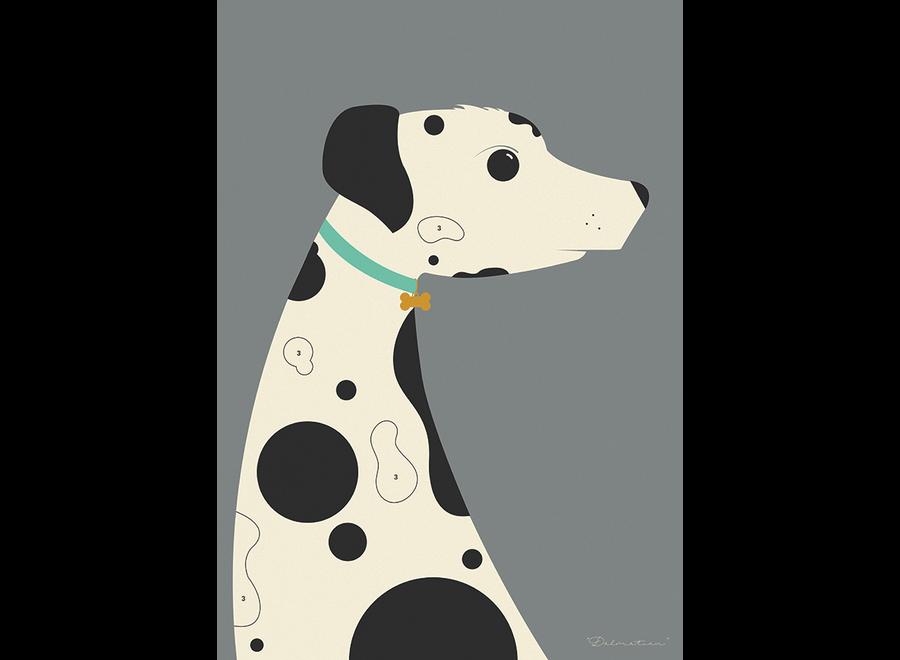 Needle Design - ArtPrint Dalmatian