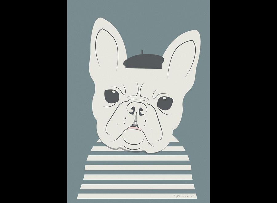 ArtPrint Franse Bulldog
