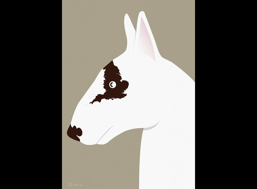 ArtPrint Engelse Bull Terrier
