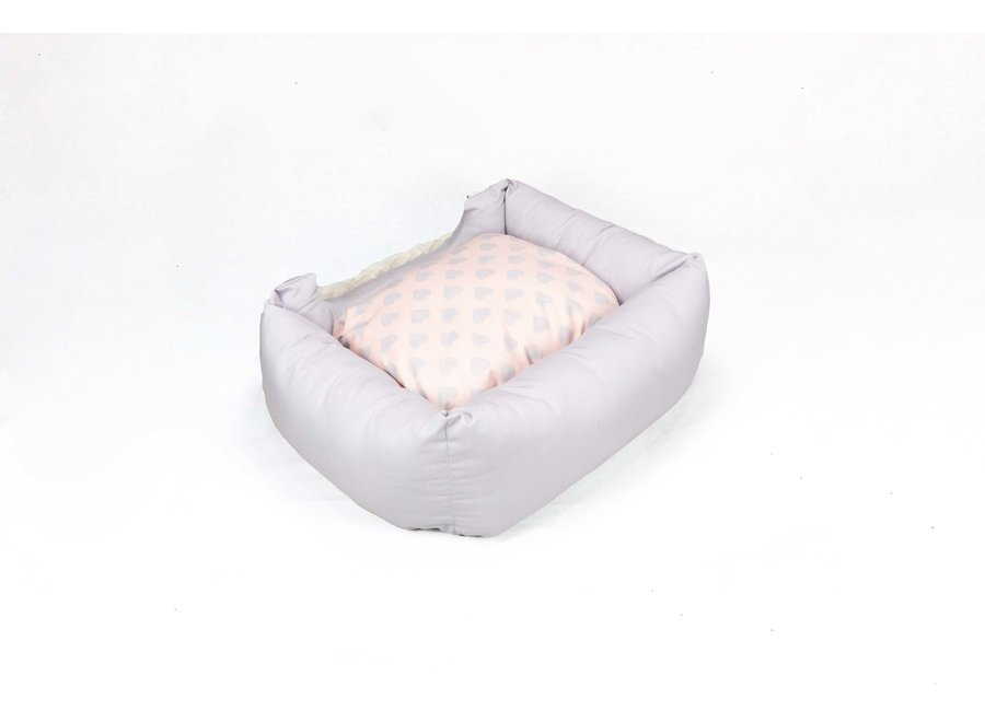 Baby Heart Bed Pink