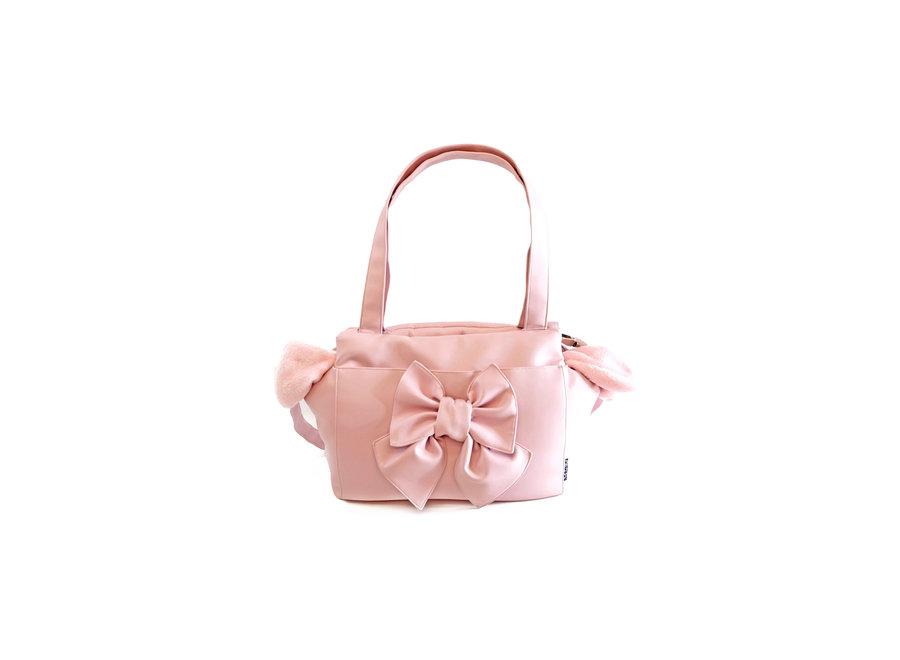 Dog carrier bag Sierra Pink Bow