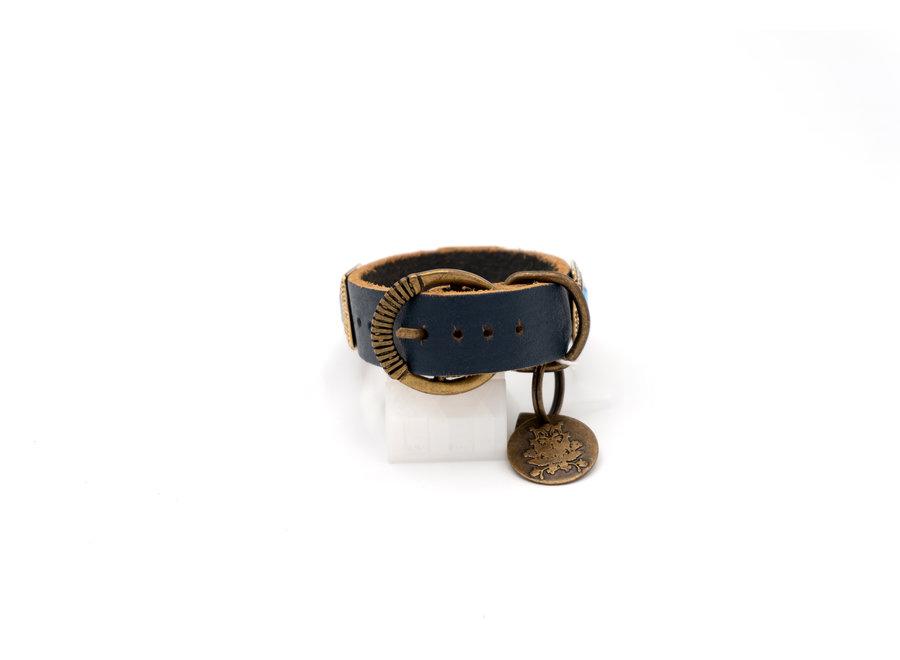 Amethist Sapphire Blue halsband