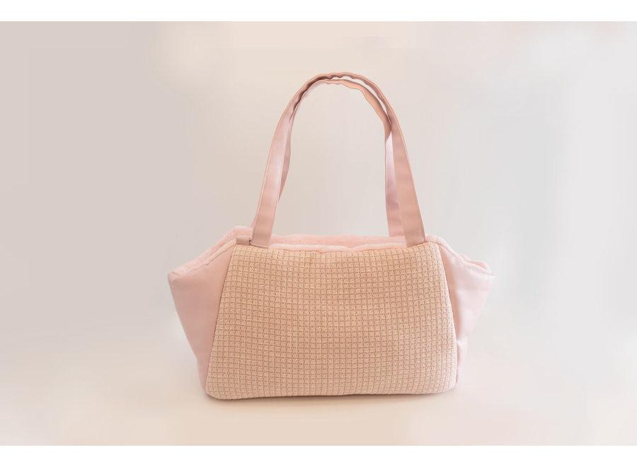 Victoria Pink Chanel-isch carrier bag