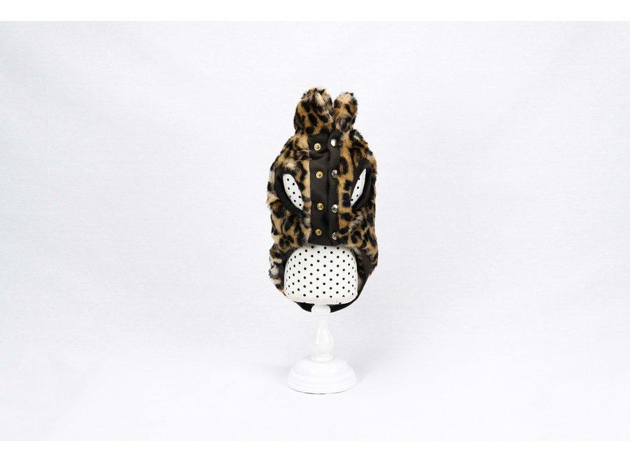Furryfur  Leopard jas