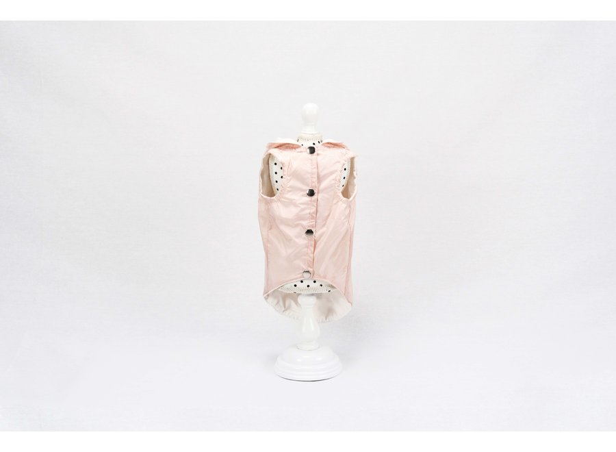 Sacha Powder Roze raincoat