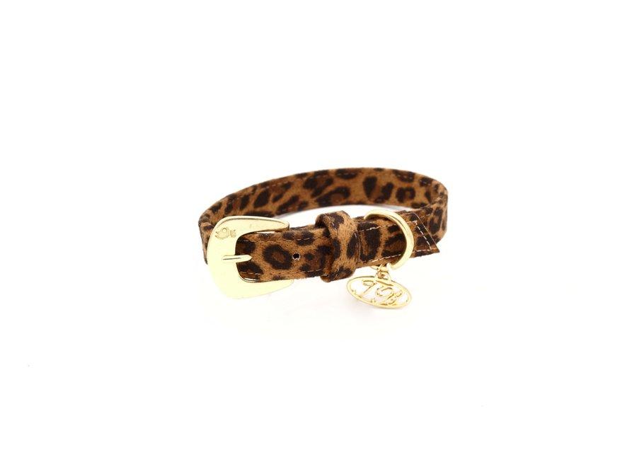 Avis Big Leopard halsband