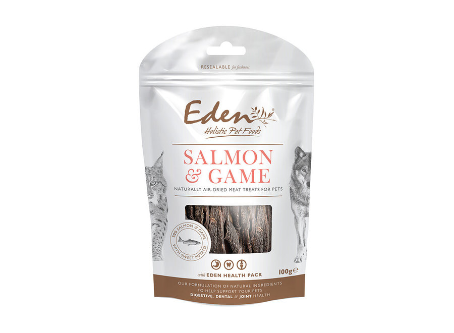 Cats and Dogs snack Salmon & Game