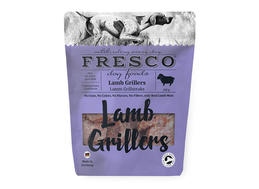 Fresco Grillers Lam 100g