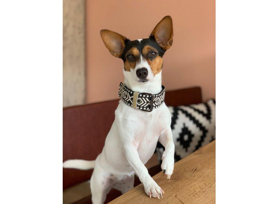 Boho Halsband Zwart/Wit
