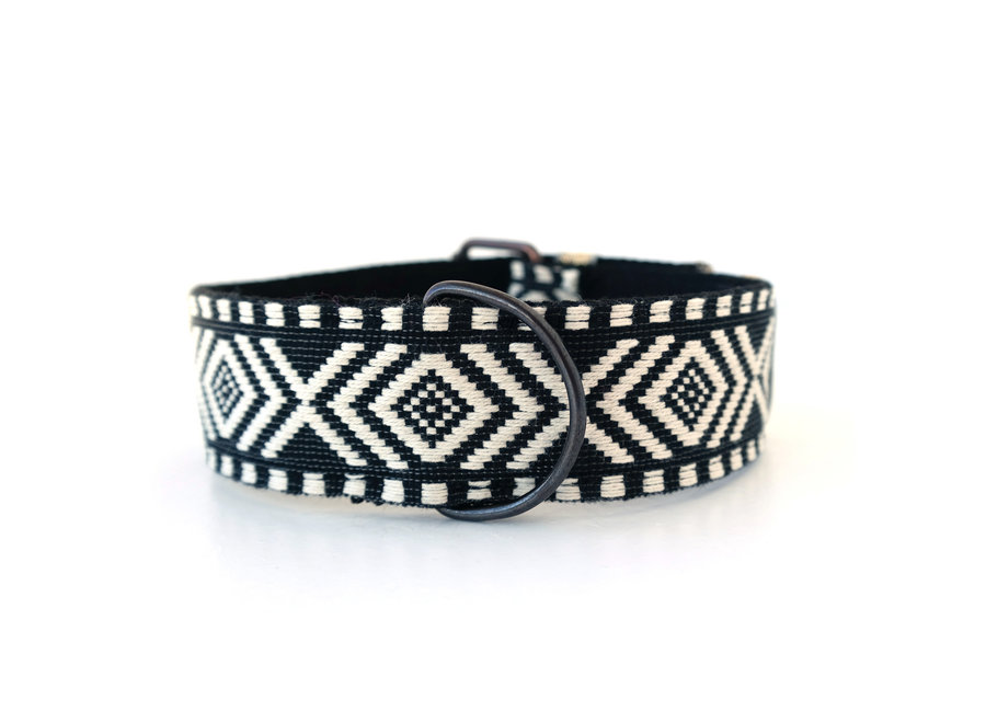 Boho Collar Black and White