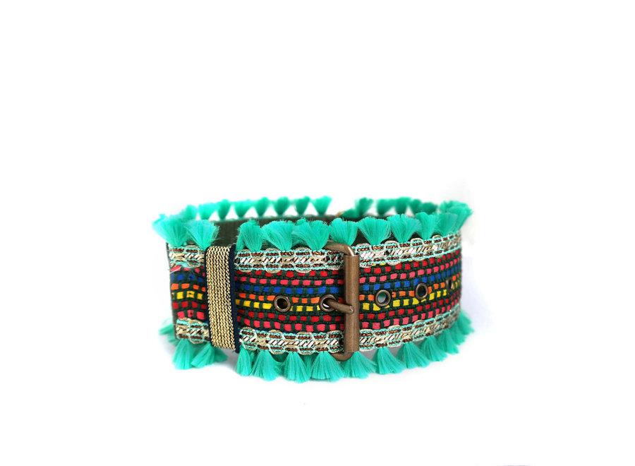 Boho Halsband Green