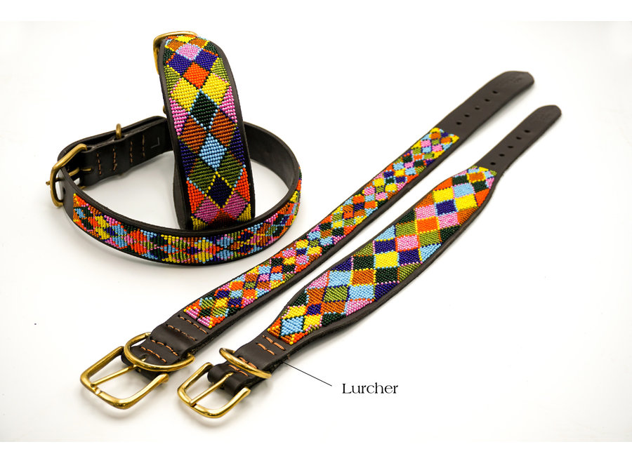 Beaded Dog collar Balou