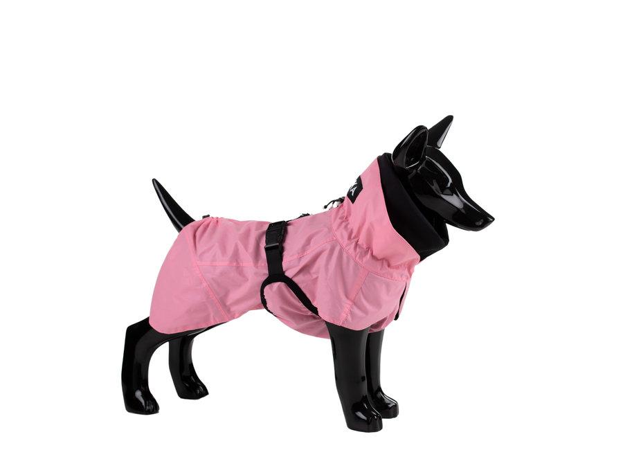 Regenjacket reflective Blush Pink
