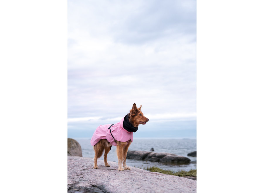 Regenjas reflecterend Blush Pink